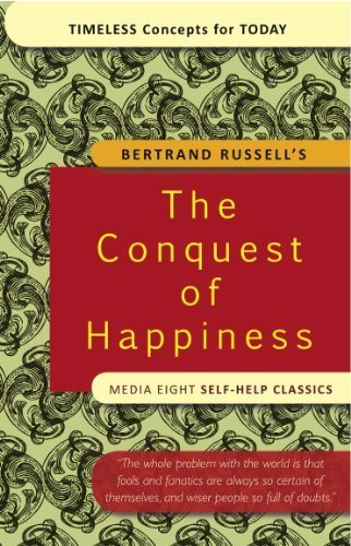 The Conquest of Happiness (Books to read in your 20s)