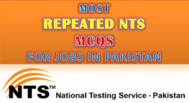 most repeated nts mcqs